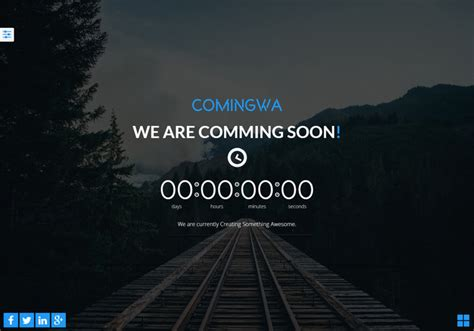 Coming Soon Web Page Templates by 30 Free Html5 Website Under Construction Coming Soon