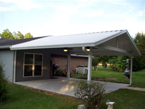 aluminum porch awnings mobile homes    trailer