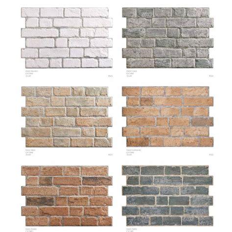 brick cuisine carrelage aspect brique 33x47cm brick pardo