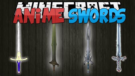 Minecraft Mods || Anime Swords!!! || Sword Art Online