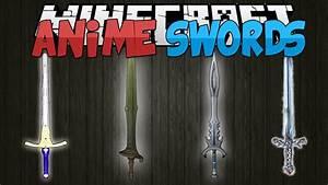 Minecraft Mods ANIME SWORDS Sword Art Online