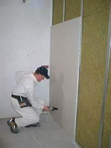 Montaz sadrokartonove steny