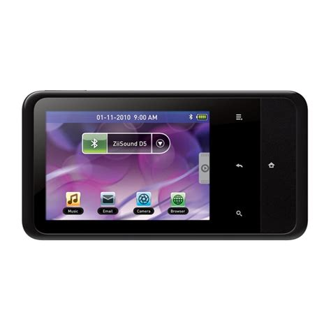 mp3 android creative zen touch 2 8 gb android based mp3 and