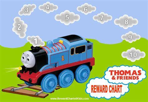 thomas  train reward chart
