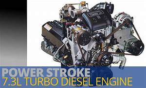 Power Stroke 7 3 Liter Diesel Engines