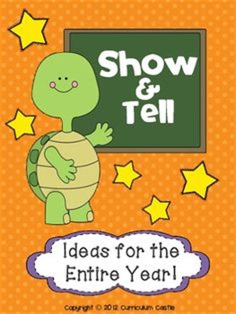 large list of show and tell ideas for letter of the week 1000 images about show and tell on rubrics 93761