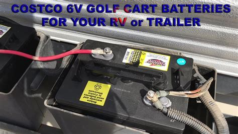costco golf cart batteries battery rv 6v gc2 trailer carts
