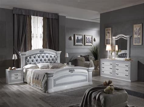 Alexandra White Finish Italian Bedroom Set Awh4  Dream