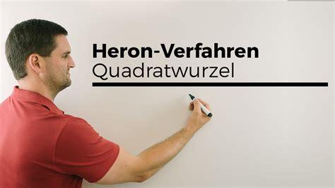 heron verfahren quadratwurzel bestimmen mathehilfe