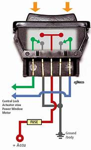 Universal Power Window Switch Wiring Diagram
