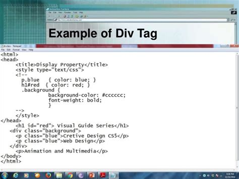 html div element css selectors div span and link