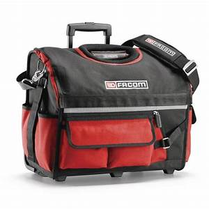 Facom BS R20 Rolling Tote Tool Bag With Wheels & Handle