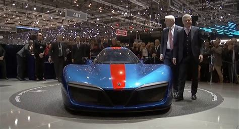 World's Fastest Street Car Pirinfarina Battista Debuts At