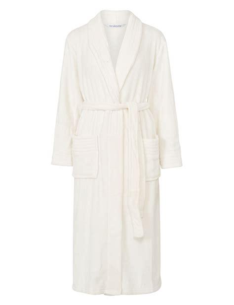 robe de chambre de luxe slenderella femmes enveloppant polaire souple robe de