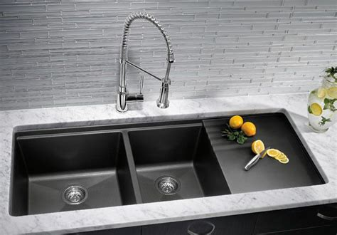 black granite kitchen sink kitchen sinks granite composite offers superior durability