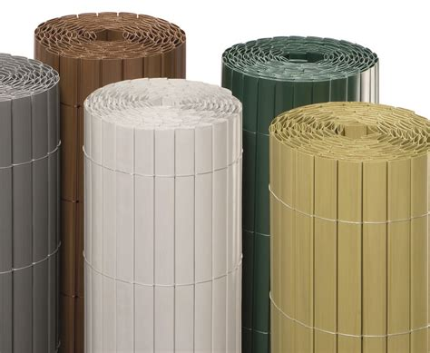 garten sichtschutz kunststoff silber xcm wien eco