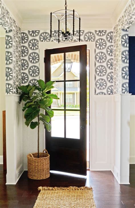 Wallpaper For Entryway by Abnormals Anonymous Wheel Of Fortune Wallpaper Foyer Entry