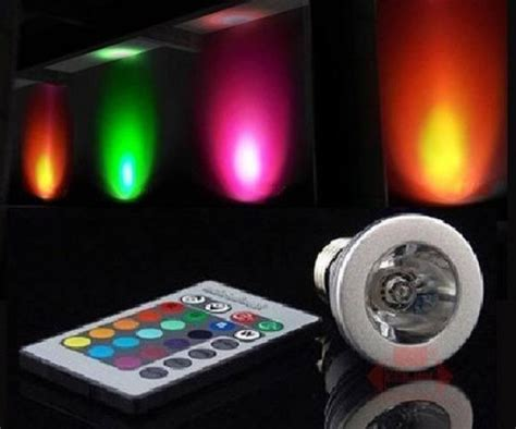 how to change the color of an led light color changing led light bulb with remote dudeiwantthat com