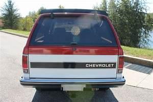 1985 Chevrolet S10 Blazer Tahoe Edition 2 8l V6 4x4 Manual