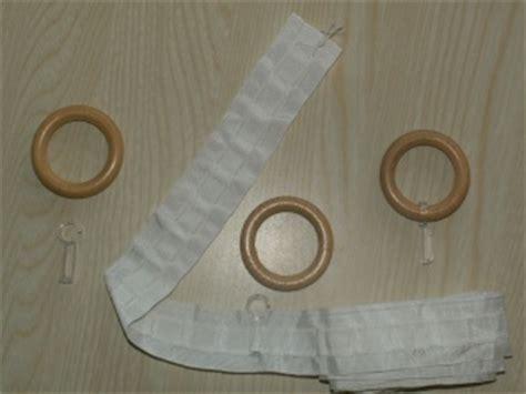 comment confectionner un rideau comment coudre des anneaux en bois sur un rideau