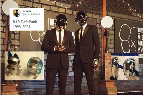 Daft Punk Splitting Has the Internet Paying Homage to ...