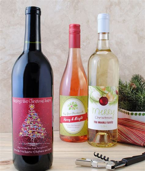 holiday wine label sayings