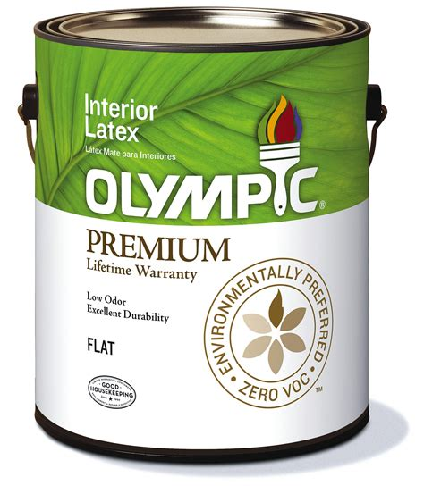 olympic paint  voclow odor premium interior paint