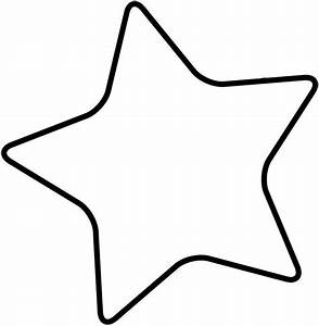 Star templates clipart best for Free star template