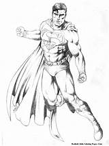 Coloring Pages Steel Dc Comics Super Superman Superheroes Heroes Drawing Drawings Printable Realistic Titan Posted Getcoloringpages sketch template