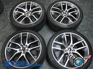 Four 2015 Ford Mustang Factory 20 Wheels Rims OEM Tires Pirelli 265/35/20 | eBay