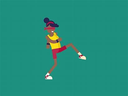 Sneak Walk Jenny Animation Dribbble Vimeo Character