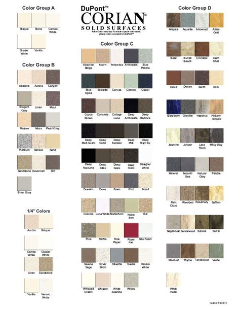 Corian Colors by Corian Colors Pdf Corian Colors In 2019 Corian