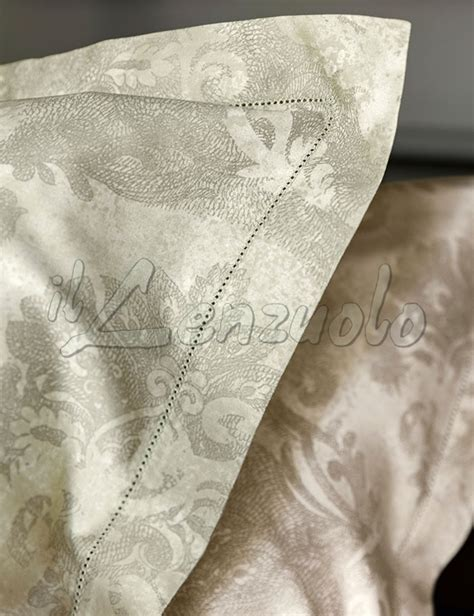 lenzuola matrimoniali fazzini ginevra  raso  puro cotone