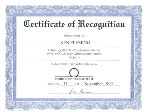 microsoft word certificate template  sample templates