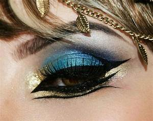 Katy Perry inspired make up for video Dark Horse! Egyptian ...