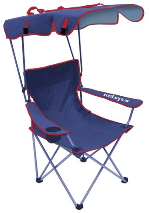 Kelsyus Canopy Chair Blue by Folding Chairs With Canopy