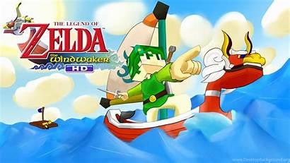 Waker Wind Background Wallpapers Desktop Zelda Legend
