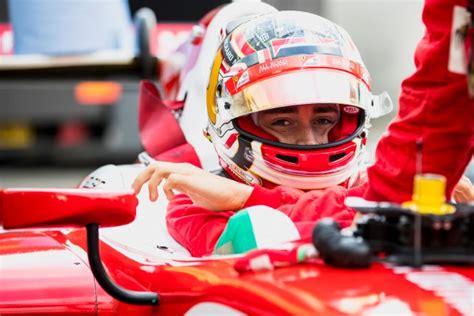 leclerc si鑒e auto f2 leclerc vince a jerez ed è cione al debutto formule motorsport