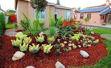 flower bed mulch ideas how to decorate garden with mulch 5 ways for unique flower bed home improvement day