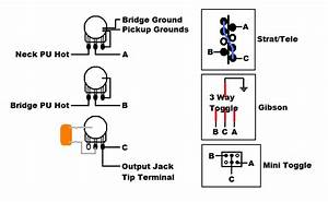 P  J Bass Wiring Schematic