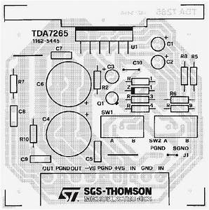 Wiring U0026 Diagram Info Tda7265 Audio Amplifier 2x25w Wiring Diagram