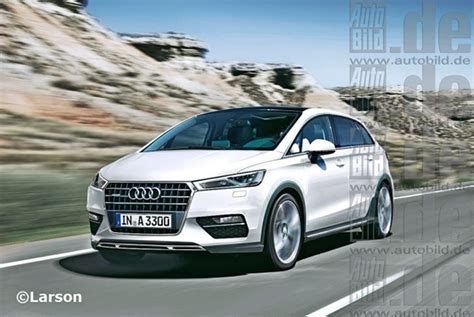 Audi 7seater Mpv's More Details And Rendered Image Emerges