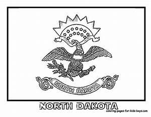 North Dakota State Flag Homeschool Mu0026m Co Op Midwest