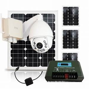 Solar Power System battery operated outdoor wireless ...