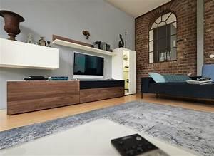 Wohnwand Weiß Holz : moderne wohnzimmerm bel die linien now by h lsta ~ A.2002-acura-tl-radio.info Haus und Dekorationen