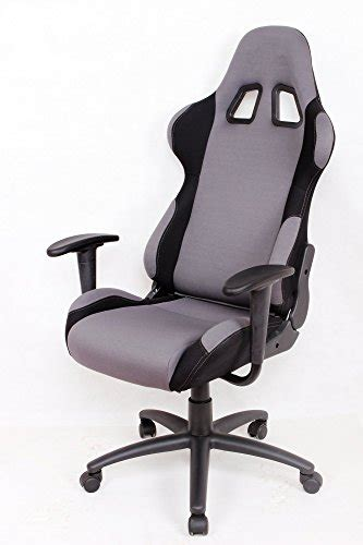 ez lounge racing car seat office jeep gaming chair gray