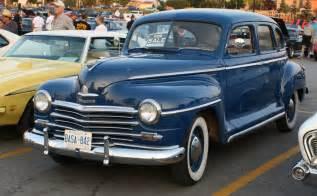 1946 Plymouth Deluxe 4 Door