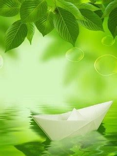 Origami Boat Mobile by Origami Boat Mobile Wallpaper Mobile Toones