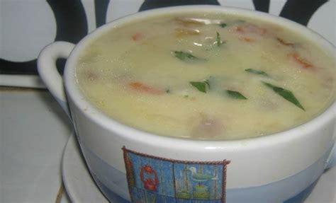 Sup krim adalah yang paling baik dibuat sebelum disajikan, terutama ketika menggunakan sayuran hijau, karena sup bisa kehilangan sebagian warnanya. supkrimkentang   Sup krim kentang, Makanan, Makanan minuman