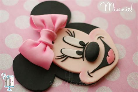 minnie mouse kuchen rezepte minnie mouse gumpaste figures tutorials sucre p 226 te 224 sucre und gateau mickey et minnie